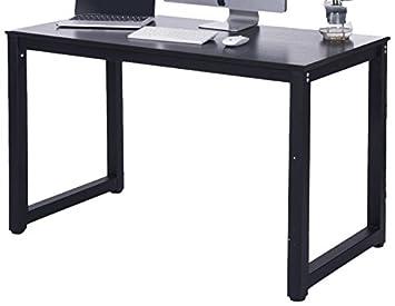 Modern Computer Desk Black
