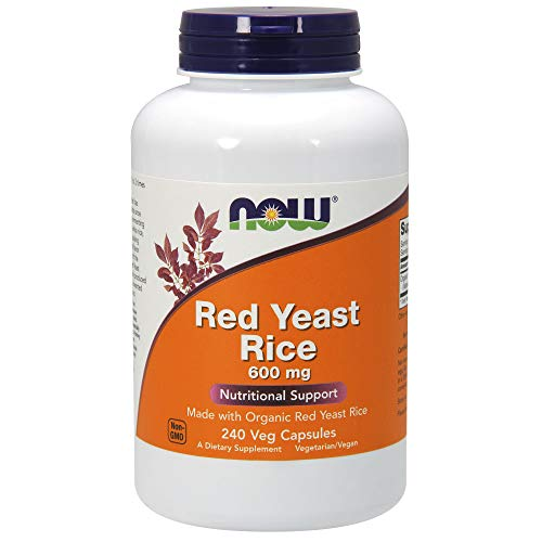 Best Now Foods Now Foods Yeasts - NOW Supplements, Red Yeast Rice 600