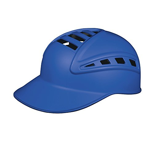 Wilson Sleek Pro Skull Catcher's Cap, Royal Blue (Helmet Royal Catchers)