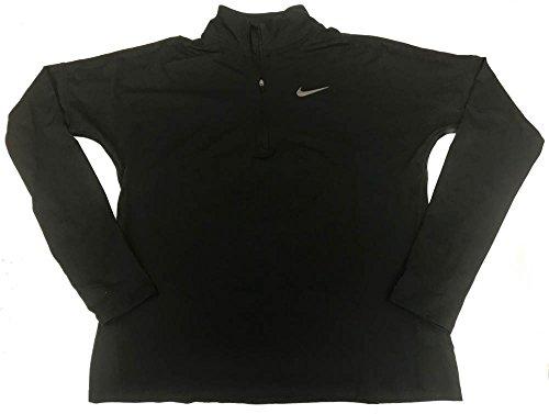 Nike Womens Active Running 1/2 Zip Top Black S