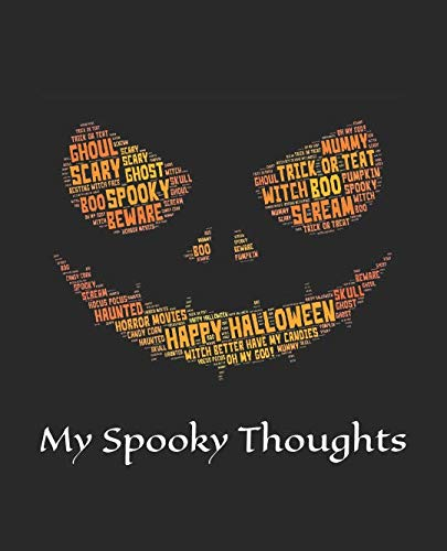 My Spooky Thoughts: Halloween Scary Notebook