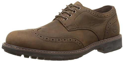 Marrone WP Uomo Brogue Timberland Top Oxford Low Scarpe 0n4qEzqw