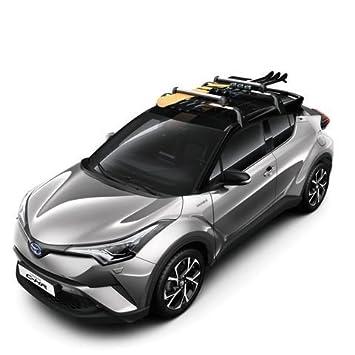 FidgetGear Fit For Toyota C-HR 2016 2017 2018 Stainless Rear Skid Plate Bumper Board 1 PCS