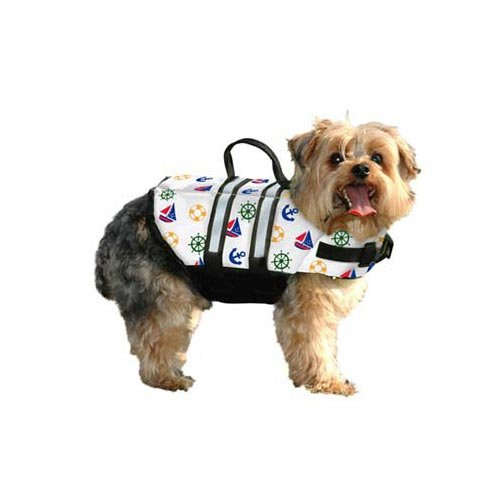 Paws Aboard Doggy Life Jacket Small-Nautical Dog