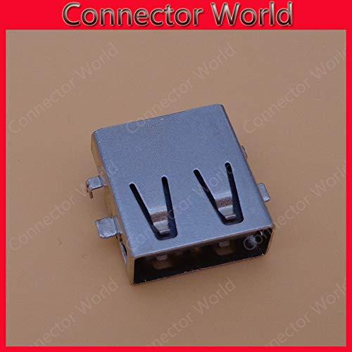 Color: 50pcs Gimax 5-50pcs//lot USB 2.0 jack micro mini USB jack connector female Laptop USB 2.0 Jack Socket tablet PC Laptop notebook
