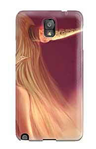 Excellent Design Blondes Video Games Touhou Demons Hornsoni Ibuki Suika Phone Case For Galaxy Note 3 Premium Tpu Case