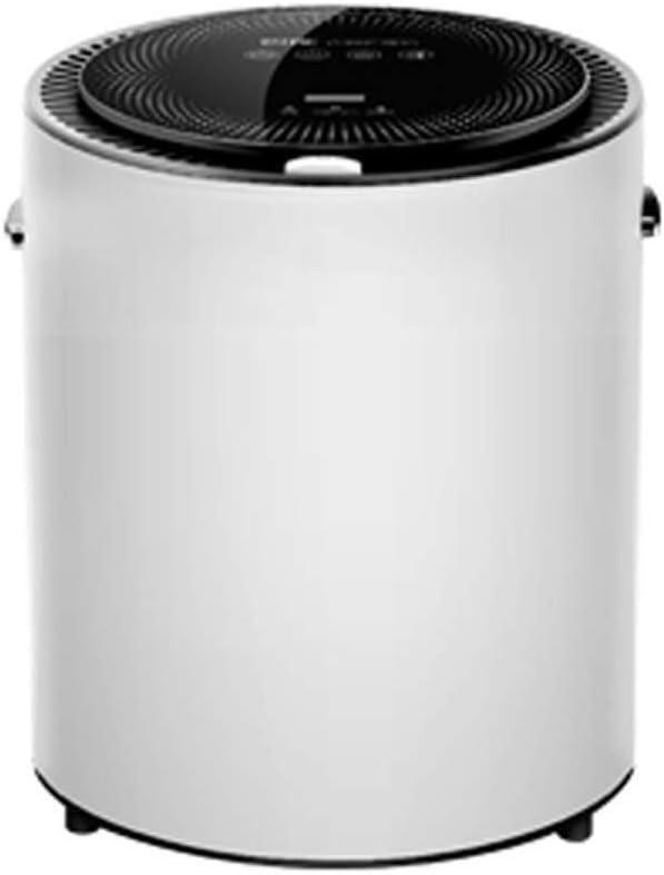 BLWX LY Secadoras portátiles Ropa Secadoras eléctricas del pequeño hogar Triple Desinfección de Secado rápido Smart Touch de Gran Capacidad de Inicio/Dormitorio/apartamento (Color : Negro)