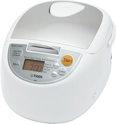 Tiger JBA-T10U-WY Micom Rice Cooker with Food Steamer and Sl