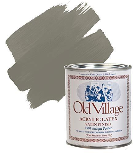 Paint Antique Pewter 1qt ()