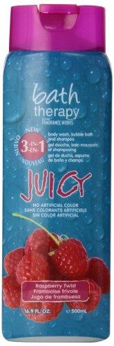 Fruity Body - Juicy 3-in-1 Body Wash, Bubble Bath and Shampoo, Raspberry Twist, 32 Fl Oz