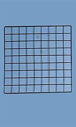 Count of 10 New Black Mini Grid Panel 14'' x 14'' by Grid Panel