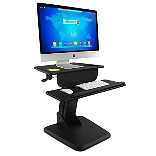 Height Adjustable Monitor Stand And Keyboard Tray Amazon Com