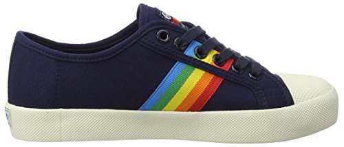 Gola Damen Coaster Regenboog Marine / Multi-sneaker Blau (marine / Multi-ex)