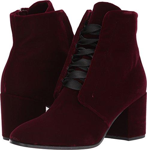 Kennel & Schmenger Women's Ruby Lace Front Boot Bordo Velvet 5.5 M - Uk Bordo