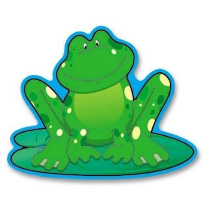 (Colorful Cut-outs Frogs 36/pk by Frank Schaffer Publications/Carson Dellosa Publications)
