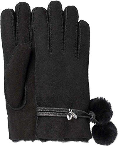 UGG Sheepskin Brita Glove Women | Black (16133) (S) by UGG