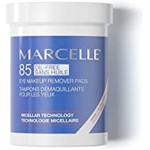 Marcelle Oil-Free Eye Makeup Remover Pads, Hypoallergenic and Fragrance-Free...