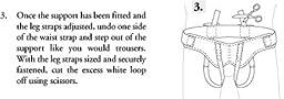 Fla 67-350500 Hernia Support Belt Soft Form Medium by FLA Orthopedics