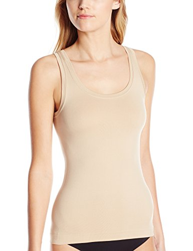 - Bali Women's One Smooth U All Around Smoothing Tank, Nude, Small