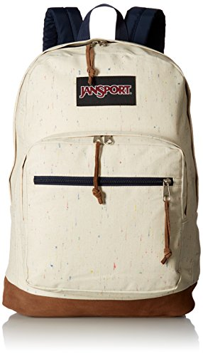 JanSport Unisex Right Pack Expressions Natural Speckled Canvas Backpack,One-Size