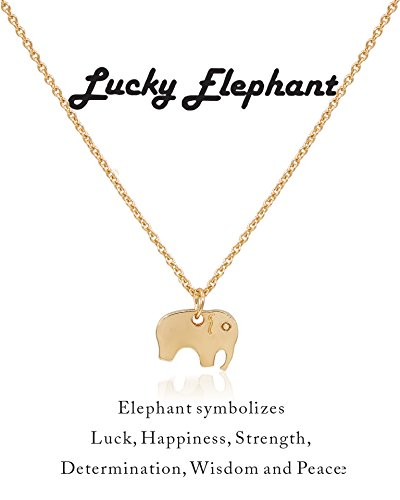 Boosic Elephant Pendent Necklace Message product image