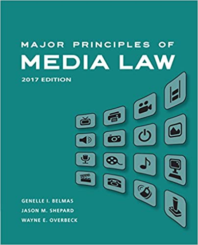 Major Principles of Media Law, 2017 - Kindle edition by ...