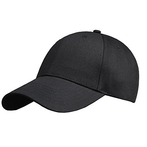 unisex Snapback KeepSa liso muchos y algodón mujeres de para béisbol colores Gorra ajustable hombres sombrero negro 8tqrpqX