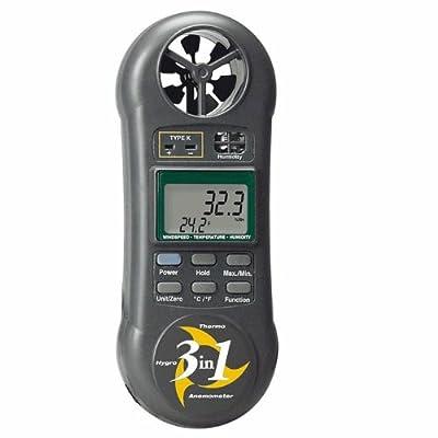 Extech 45160 Pocket Thermoanemometer, vane