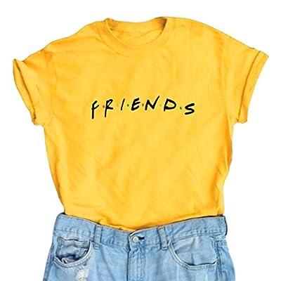 LOOKFACE Women Friends TV Show Graphic Cute T Shirts Cotton Ideas