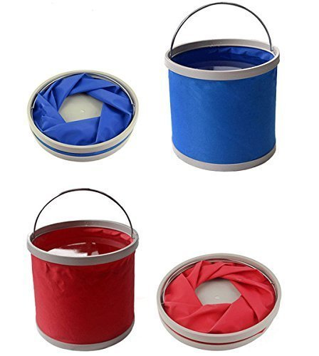 Large Fishing Camping Washing Portable Folding Bucket Outdoor Foldable WaterPail
