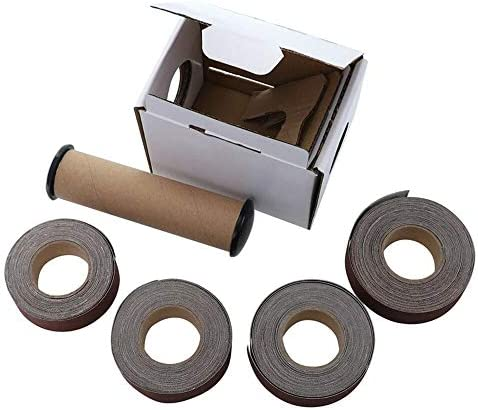 Un known Mobile Phone Replaceable Sanding Belt Roll Drawable Emery Cloth Sandpaper Grinding Belts Soft Sandpaper Roll for Wood Turners Accessory Machine Parts