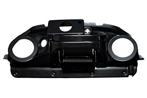 VIP PRDHCFEZIRD Club Car Precedent Dash (Carbon Fiber EZ Install Gauge Radio Cut Speaker Cut-Out 6.5 (Club Car Precedent Dash)