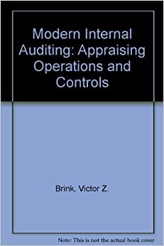 Modern Internal Auditing: Appraising Operations and Controls