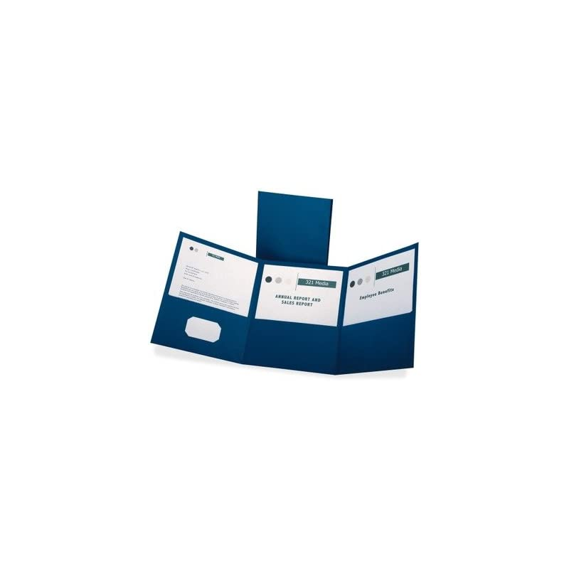Oxford Tri-Fold Pocket Folders - Letter