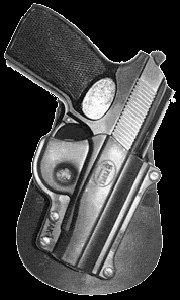 Fobus Elite Paddle (Concealed Carry Fobus Holster Makarov Paddle Elite Concealed Securely Case HandGun & Pistol Pouch)