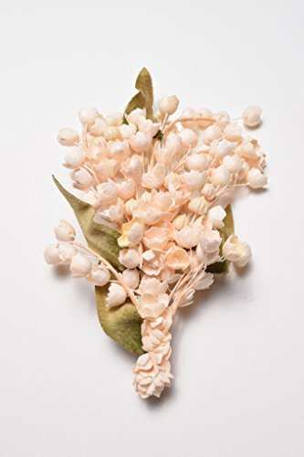 Wedding & Bridal | Lily of the Valley ''Felize'' Corsage | Cotton Flowers | Handmade in Japan by Brandimport