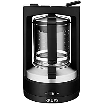 krups ec3140 savoy programmable digital coffee maker machine with stainless steel. Black Bedroom Furniture Sets. Home Design Ideas