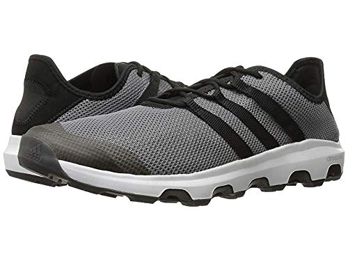 adidas outdoor Men's Terrex Climacool Voyager Water Shoe, Grey/Black/White, 10 M US