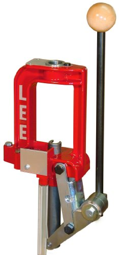 LEE PRECISION Breech Lock Challenger Press (Red) (Best Reloading Press For 9mm)