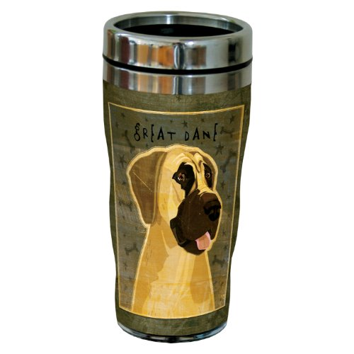 - Tree-Free Greetings sg24029 Great Dane-No Crop by John W. Golden 16-Ounce Sip 'N Go Stainless Steel Lined Travel Tumbler
