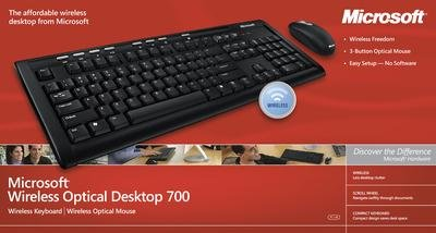 Microsoft Wireless Optical Desktop 700