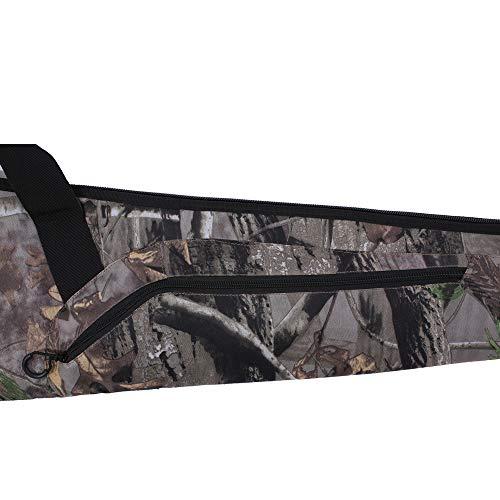 Kylebooker Scoped Rifle Cases Tactical Shotgun Gun Bag (52inch, Camouflage)