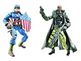 MARVEL LEGENDS 2 PK FIGURE - ULTIMATE CAPTAIN AMERICA & NCK FURY
