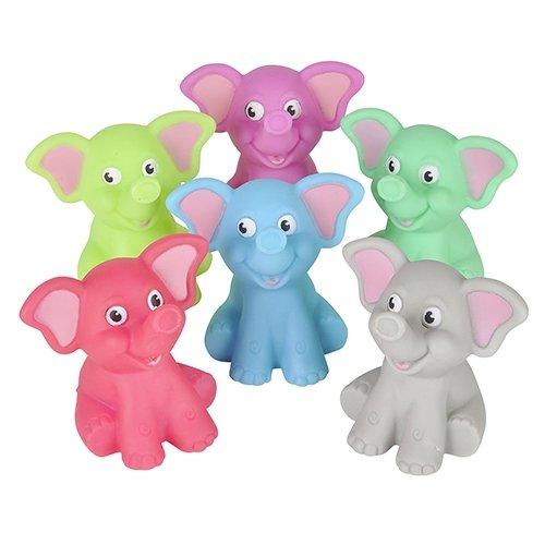 Bathtub Rubber Elephants per pack