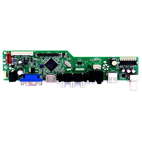 VSDISPLAY HDMI+VGA+CVBS+USB+RF+Audio LCD Motor Driver Board Controller Kit Work For 17'' 19'' LTM170EU LM190E02 1280X1024 4CCFL 30Pin LCD Panel by VSDISPLAY (Image #2)