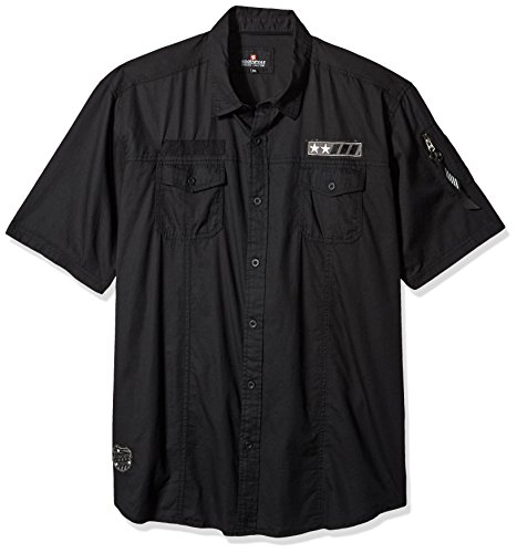 Southpole Short Sleeve Button Patches