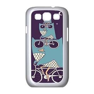 Owl Customized Cover Case for Samsung Galaxy S3 I9300,custom phone case ygtg526606
