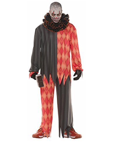 Underwraps Evil Halloween Clown Adult Costume ()