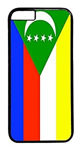 ACESR Comoros Flag iPhone 6 Hard Case PC - Black, Back Cover Case for Apple iPhone 6(4.7 inch)
