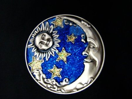 Welforth Pewter Moon Jewelry Yellow product image